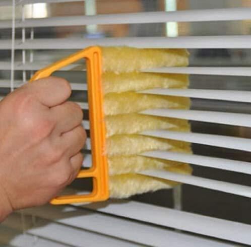 Blind Cleaner Tool, Mini Blind Duster Brush Dust Clean Venetian Blind Brush Window Air Conditioner Duster Dirt Cleaner Housework Tool