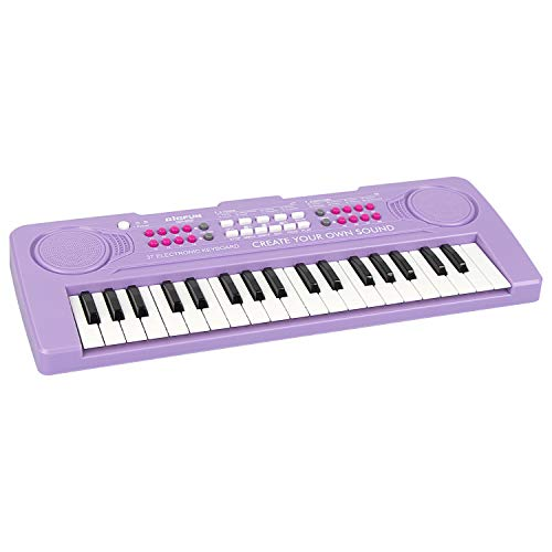 37 Keys Kids Portable Electronic Piano Keyboard Now $13.53 (Was $39.99)