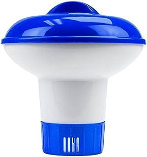 lzndeal Diffuseur Flottant Grand Bleu Distributeur de Chlore Piscine Flottant pour Piscines Accessoires Spas