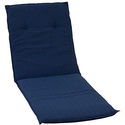 beo p113 Belize Li Coussin avec Bordure pour de Grande qualité et Facile d'entretien, siège Confortable Chaise Longue Env. 59 x 193 cm Épaisseur 5 cm