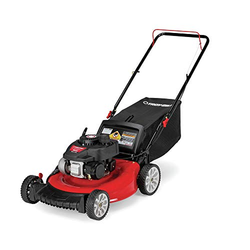 Troy-bilt 11a-a2sd766 Gas 3-in-1 Walk Behind Push Mower, 140 Cc