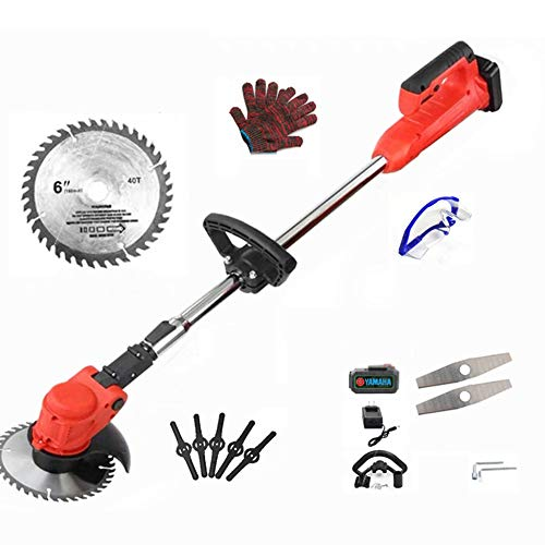 Buy Discount DENGS 1680W Hedge Cutter Brush Cutter, Retractable Grass Trimmer, Dual Control Switch, ...