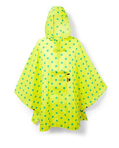 reisenthel mini maxi poncho 141 x 93 x 0 cm / lemon dots