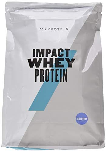 Myprotein Impact Whey Protein Blueberry, 1er Pack (1 x 1000 g)