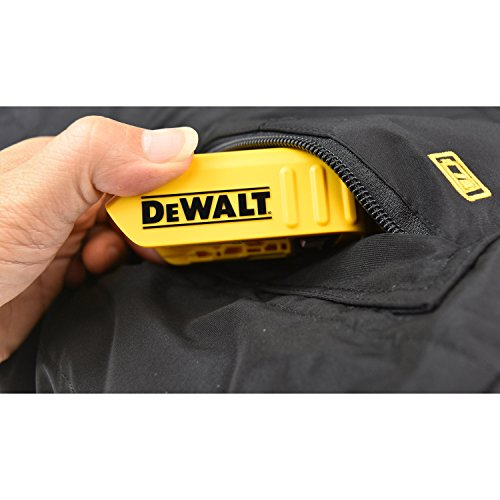 DEWALT DCHJ072 Heated Lightweight Soft Shell Jacket Kit with 2.0Ah Battery and Charger