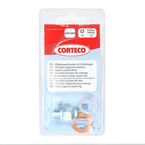 Corteco 220154S Bloque de Motor