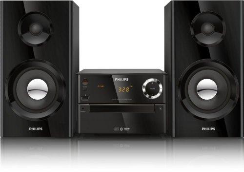 Philips BTM2180/12 Mini Stereoanlage mit Bluetooth schwarz
