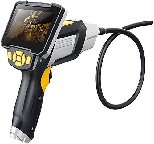 Endoscopio Portátil, Cámara de inspección del endoscopio, cámara de endoscopio inalámbrico 1080p WiFi boroscopio con cable semi rígido para dispositivos de tableta para Android / iPhone / iPhone / Sam
