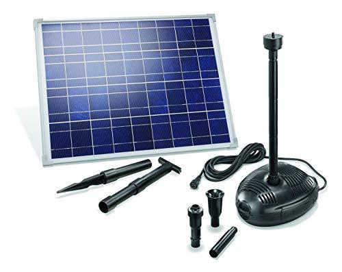 Solar Teichpumpenset Genova 35W Solarmodul 1700 l/h Förderleistung Gartenteich Pumpenset Teich 101723