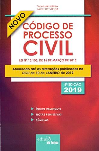 Código de processo civil 2019 - Mini