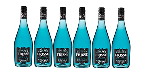 Frissé Frissé Blue Moscato - 6 botellas x 750 ml - Total:4500ml