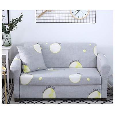 ASCV Sofabezug Schonbezug Sofa für Sofatuch Bedrucktes Blattmuster Wohnzimmermöbel Schutzsessel Sofas A22 2-Sitzer