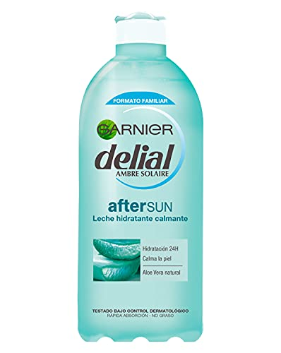 Garnier Delial After Sun Leche Hidratante Calmante con Aloe Vera Natural - 400 ml