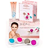Kegel Balls for Beginners and Advanced - Kegel Exercise Weights – Doctor Recommended for Bladder Control & Pelvic Floor Recovery Training – Premium Silicone Ben Wa Keigal Ball Weighted Kit for Women
