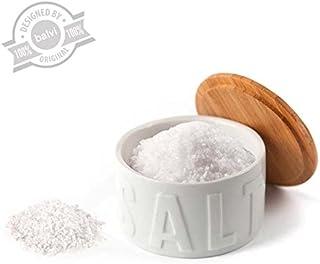 Balvi Bote para Sal en Escamas Salt Color Blanco con Tapa