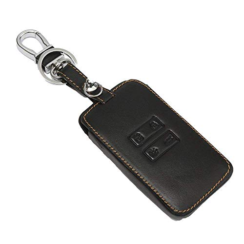 Kaxich Leder Auto Schlüsseltasche Autoschlüssel Tasche Auto Schlüssel Hülle Case Cover Schlüsselanhänger für Renault Kadjar