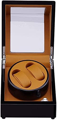 N&W Watch Box Watch Storage Box Watch Winder Dreihen Winding Machine Automatic 2 + 0 PU Display Box Motor Table 2 + 0