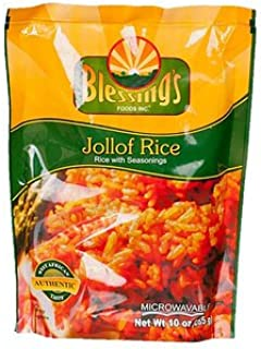Jollof Rice Seasoning Mix (10 oz) - Pack (Rice with Seasoning)
