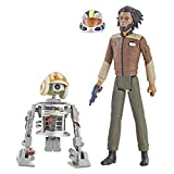 Star Wars Resistance Animated Series 3.75-inch Jarek Yeager and Bucket (R1-J5) Figure 2-Pack