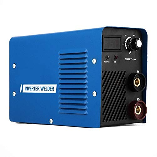 Lasser Multi-functie ARC MMA Welder Smart-200 200AMP 220V IGBT Inverter Welder Machine MMA booglassen machine Lasapparaat (Color : SMART-200, Size : 220V)