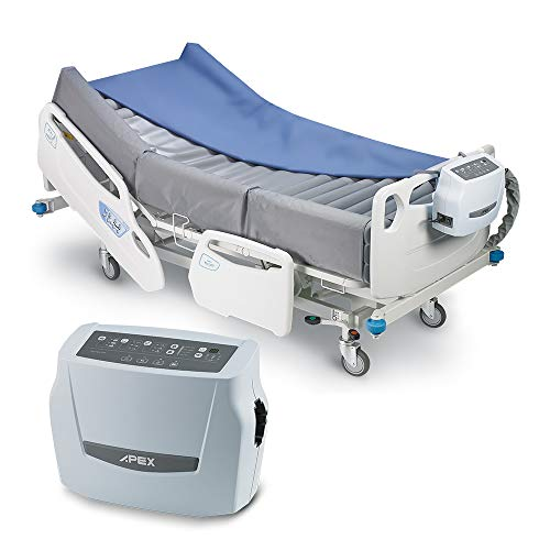 Apex Medical Pro-Care Turn - Bilateral Turning Air Mattress, Automatic Patient Positioning System (Hospital Bed NOT Included)