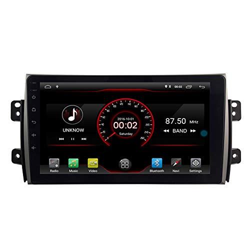 autosion 2+16GB android 10 car Radio stereo autoradio Navigatioin GPS für 2006–2012, Suzuki SX4 Kapazitive Touchscreen Bluetooth Hands-free/Lenkradfernbedienung