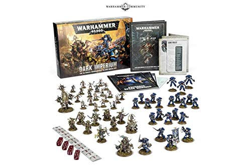 Games Workshop 60010199015 WARHAMMER 40000, DARK IMPERIUM (ENGLISH)