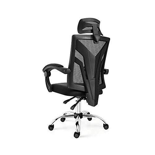 IRVING Bürostuhl - Ergonomischer Drehstuhl, Sitzhöhenverstellung, Sitz Esports Computer Stuhl Bürobesprechung Sekretär Bürostuhl, Breathable Ineinander greifen zurück