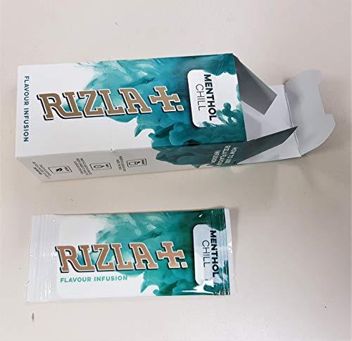 "Rizzla Flavour Infusions-Karten ""Menthol Chill"", komplette Box mit 25 Stück"