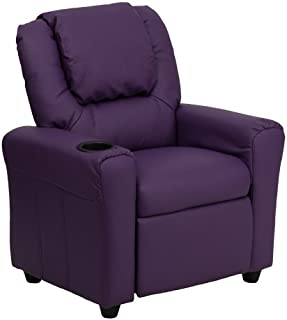 purple recliner for adults