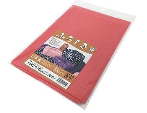 イシミズ 日本製 ふろしき 約90x90cm(二四巾) ピンク No.01454