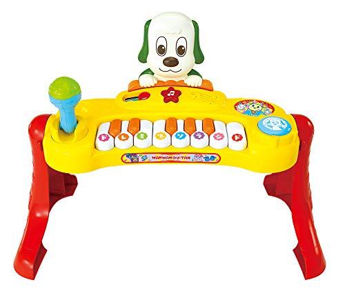 ジョイパレットワンワンとうーたん いっしょにコンサート♪ マイクもたいこも! ミュージックキーボード (ピカピカブ~! バージョン)