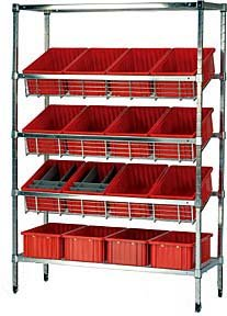 Quantum Popular shop is the lowest price challenge Storage Systems Slanted Wire Bo Dividable With Max 83% OFF Shelving