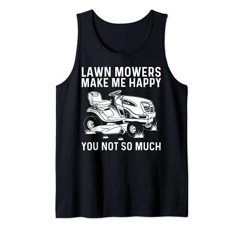 Lustiges Rasenmäher für Männer und...