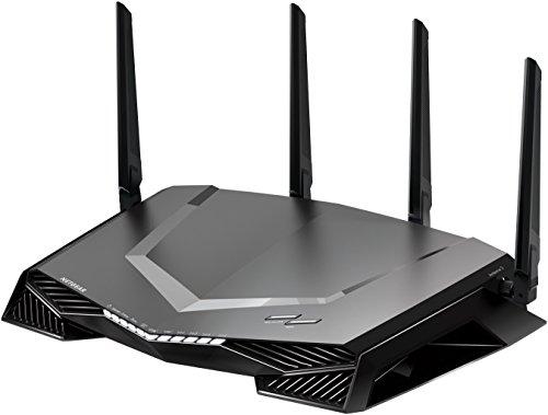 Netgear Nighthawk XR500 WLAN Pro Gaming Router (AC2600 Geschwindigkeit mit Quad Stream, QoS, Gaming Software mit Dashboard & Geo Filter powered by Netduma)