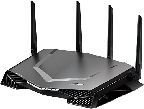 Netgear Nighthawk XR500 WLAN Pro Gaming Router (AC2600 Geschwindigkeit mit Quad Stream, QoS, Gaming Software mit Dashboard & Geo Filter powered by Netduma)