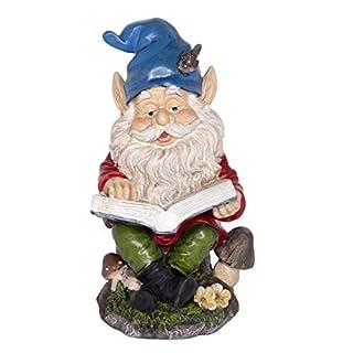 Alpine WAC206 Gnome Reading Statuary