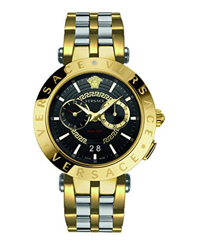 Versace VEBV00519 V-Race Heren horloge chronograaf 46 mm