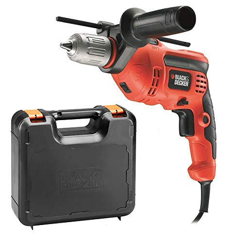 Black+Decker KR714CRESK - Taladro percutor con cable 710W, portabrocas 13 mm,...