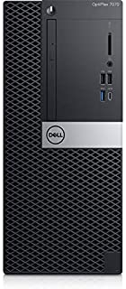 Dell OptiPlex 7070 Desktop Computer - Intel Core i7-9700 - 8GB RAM - 1TB HDD - Tower