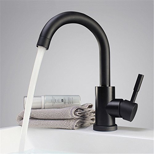 SHIJING zwart-wit kleur 304 roestvrij staal gepolijst badkamer wastafel mixer dubbele wastafel draaibare wastafel kraan keuken mixer