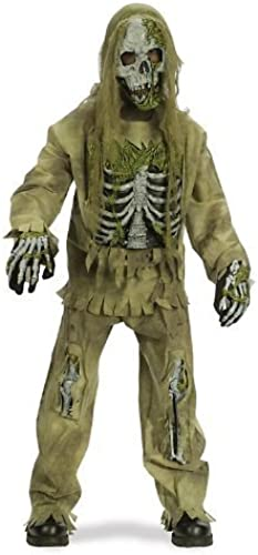 Skeleton Zombie Costume - Medium by Fun World