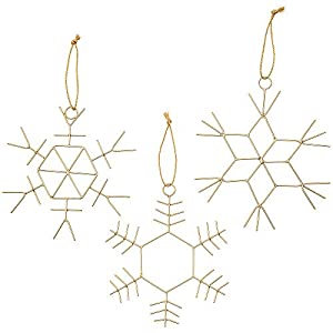 MODERN DAY BOHO DREAM: Gold Décor is trending and it will not leave us soon. You can hang these ornamanents from ceiling or use them as christmas decoration. No matter how you use it, make sure you place them in a strategic point at your home, becaus...