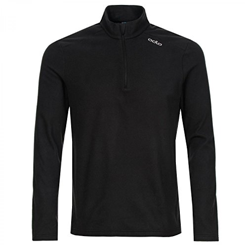 Odlo Herren Midlayer 1/2 Zip ORSINO Pullover, Black, L