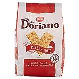 Doriano Crackers Classici con Sale Iodato Sfogliati e Fragranti, 700g