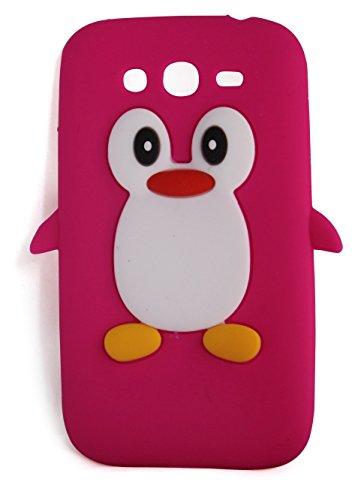 SKS DISTRIBUTION® Samsung Galaxy Grand I9080 / I9082 Samsung Galaxy Grand Neo Plus I9060 arosa caldo pinguino carino animale silicone pelle caso coprire mobile telefono Accessori.