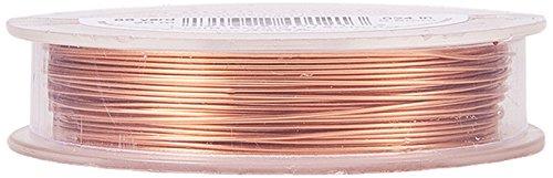 BENECREAT 22Gauge (0.6mm) Anlaufbeständiger Kupferdraht Schmuck Schmuckdraht, 20M/22Yard