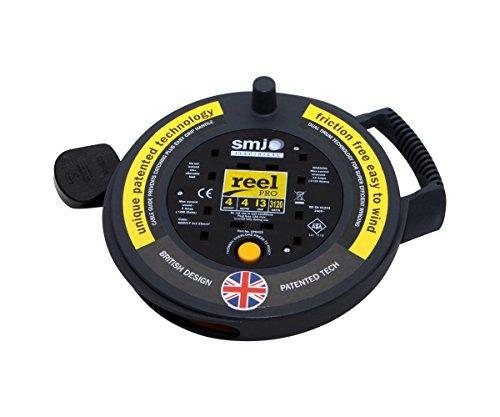 Pro Elec SMJ électrique 6 gang Extension plomb câble d/'alimentation Surge Protected 13 A