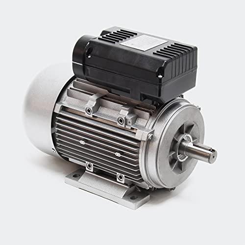 Motore elettrico monfase 2-poli 230V 2,2 kW (3CV) con condensatore di avviamento 2850 giri/min