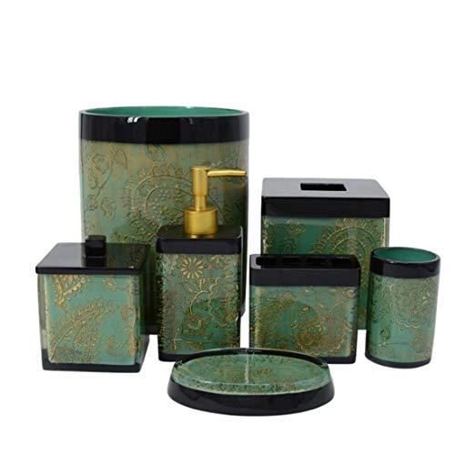 Cuarto de baño moderno Traje Complementos- Baño Ensemble conjunto de accesorios de...